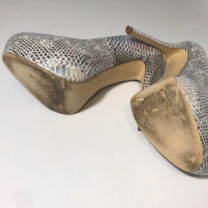 Steve Madden Shoes - Steve Madden Nala snake skin print pump